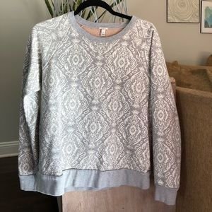 JCrew crewneck light sweatshirt